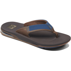 Reef Fanning 2.0 Teenslippers Heren, navy/brown